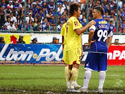 Gonzales Persib vs Sriwijaya FC 2009/2010