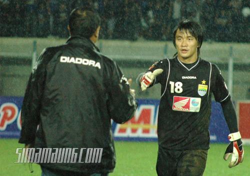 Kosin Persib vs Pelita Jaya 2009