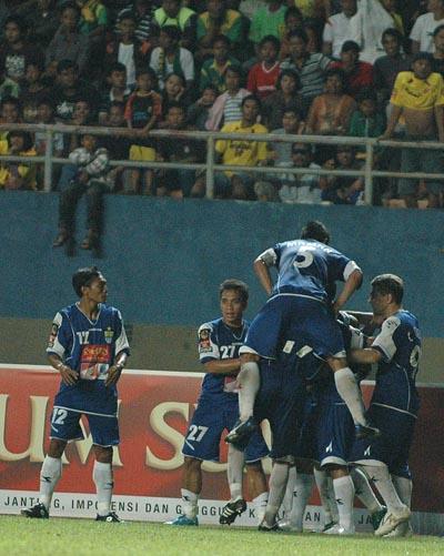 Gol Sriwijaya vs Persib
