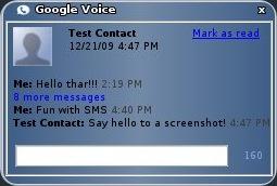 Google System Tray