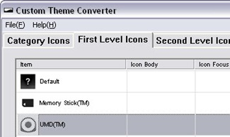 how to put custom themes on psp