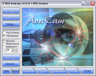 Free WebCam Software: RGS-AvaCam is a free WebCam software for designed to ...