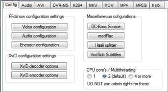 Vista 64-bit Codec