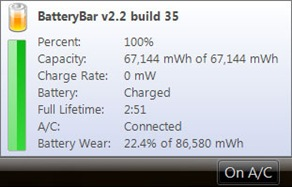 Monitor Laptop Battery