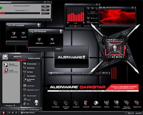 Darkstar Alienware XP and Vista Theme