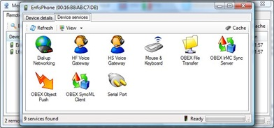 Bluetooth Network Scanner Software for XP Vista