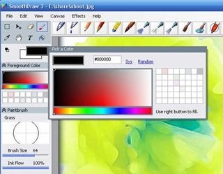 SmoothDraw Free-Hand Drawing Software