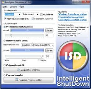 Intelligent Shutdown and Auto Task