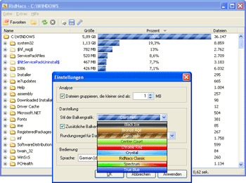 Free Disk Space Analysis Software