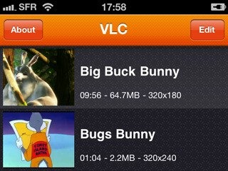 VLC for iPhone iPod Touch
