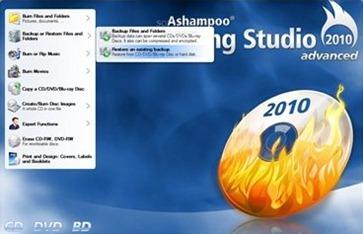 Free Ashampoo Burning Studio 2010 Advanced