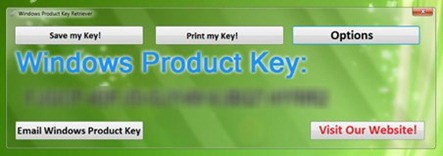 Windows Product Key Retriever