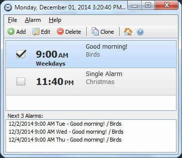 Free Windows 7 Alarm Clock