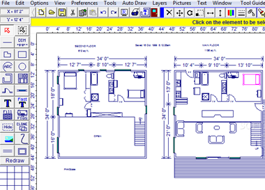 Light And Space Issue Solved With Free House Plan Software