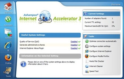 Free Internet Speed Accelerator Software
