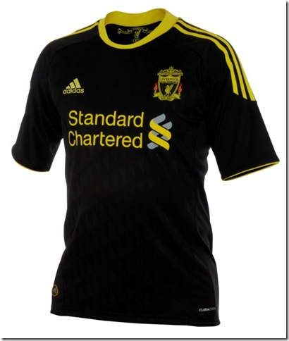 New third away shirt