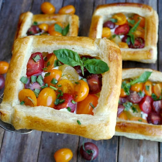 Tomato And Cheese Puff Pastry Tart Recipes