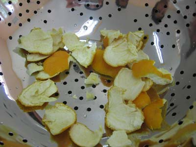 orange peels