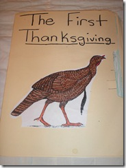 thanksgiving lapbook 001