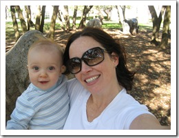 Reid & Momma, 1-22-10