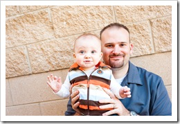 Bev's photo - Daddy & Reid, 12-13-09