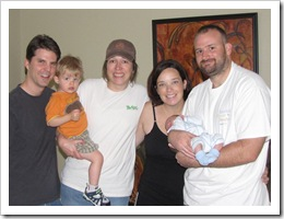 Dave, Ethan, Kellie, Jenny, Reid & Jer