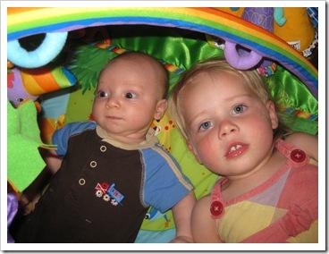 Baby Reid & Avery, 5-23-09