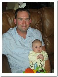 Uncle James & Reid, 5-22-09