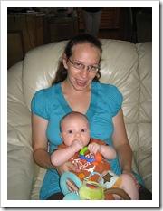 Aunt Karon & Reid, 6-20-09