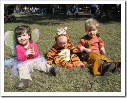 Fairy Kate, Tigger Reid & Cowboy Ethan, 10-24-09