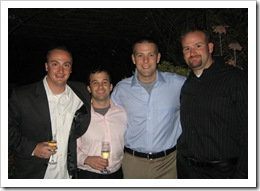 Best Friends: George (on his birthday!), Pat, Dan & Jer