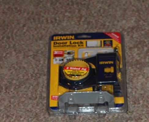 irwin door lock installation kit