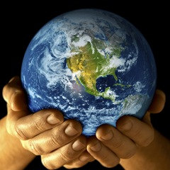 Earth in your hand