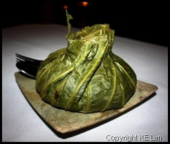 Lotus wrapped rice
