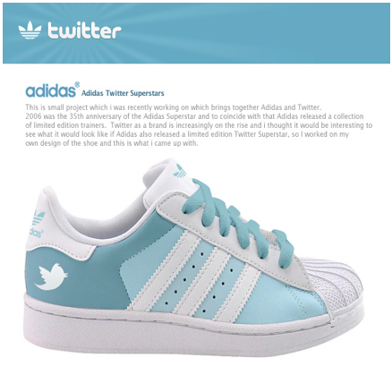 Twitter adidas