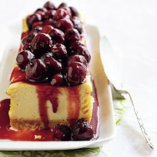 Cherry Cheesecake Slice