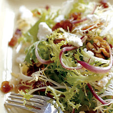 Frisée Salad with Bacon, Dates, and Red Onion