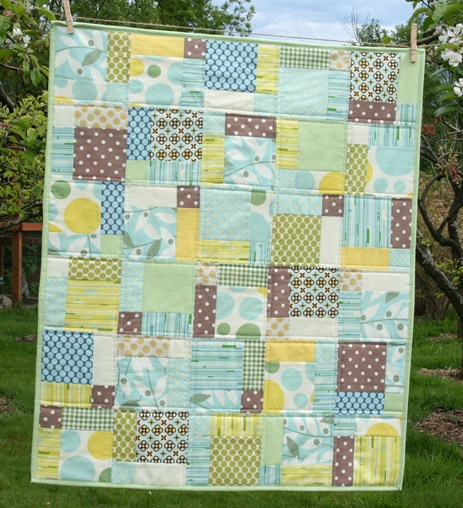 Disappearing Nine Patch + Scrap Quilts on Pinterest