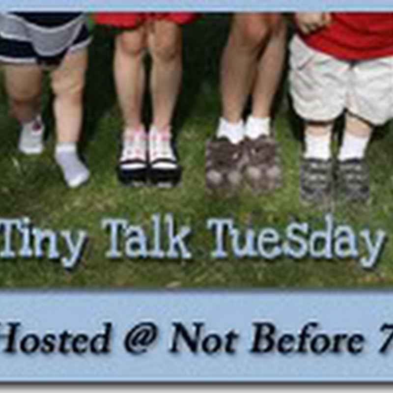Tiny Talk Tuesday – I Want to Be a Policeman