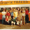 Tadpoles with unknown crew and punters in Amsterdam 1979 after losing the roof..jpg