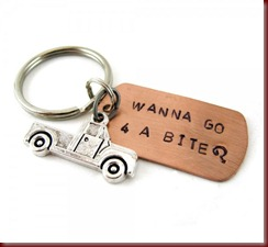 wanna-go-for-a-bite-key-chain-stamped-copper-with-truck-charm-twilight-inspired