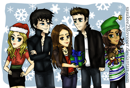 Vampire_Diaries____Christmas_by_sasukee23loveeer
