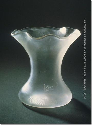 Vaso de cristal da 1ª classe