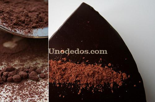 Tarta mousse de castañas y chocolate