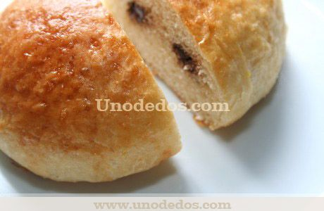 Brioches con pepitas de chocolate