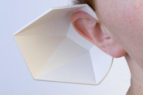 ポリゴンな聞き耳フード(EARSHELL) + monogocoro