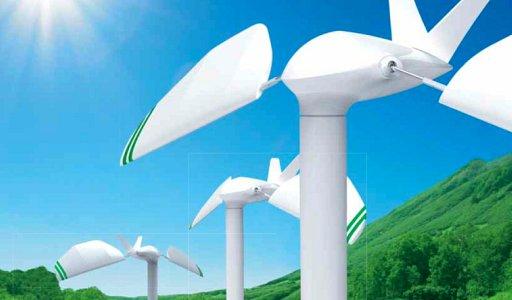 鳥のように羽ばたく風力発電機(xBee) + monogocoro