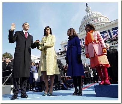 Obama Inauguration Family