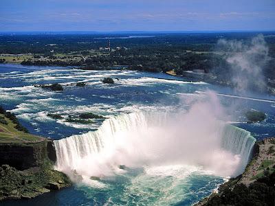 Wallpaper Collection The Niagara Waterfalls Canada United States Of America Niagara Near