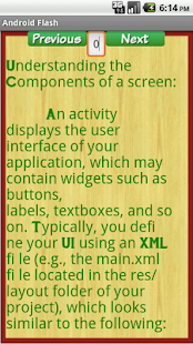 Flash Card For Android - screenshot